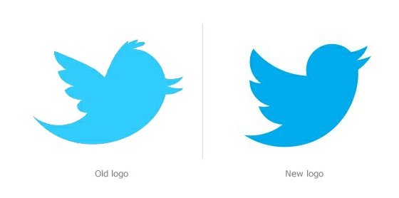 Official twitter clipart vector library download Twitter gets a new Logo - Geezam.com vector library download