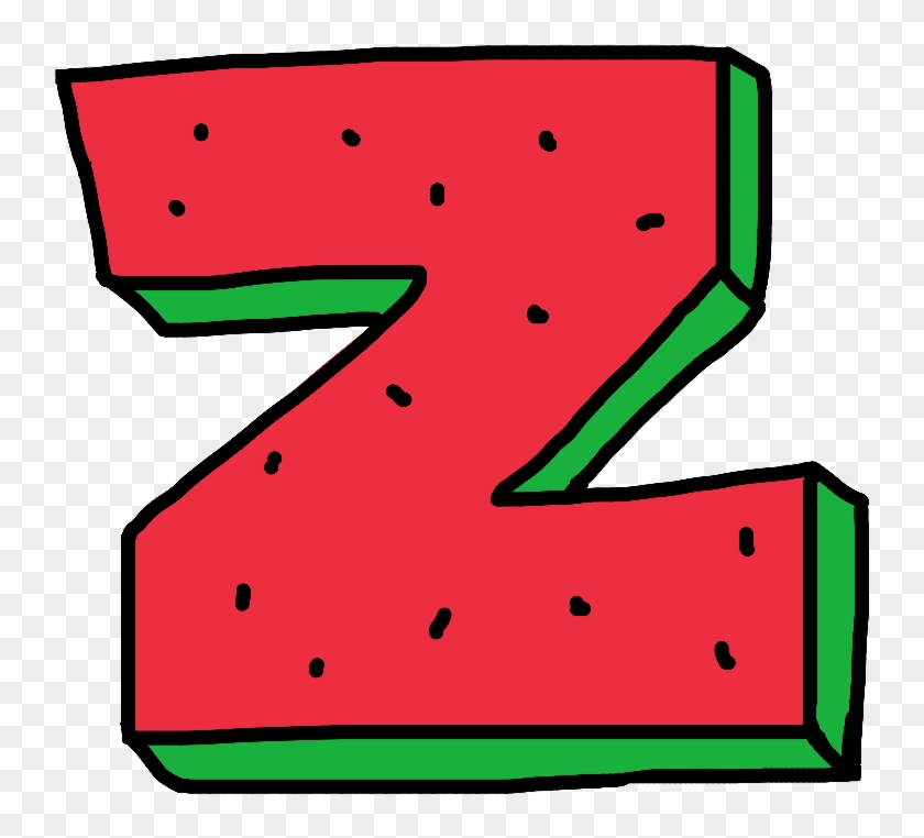 Ofwgkta clipart graphic transparent stock alphabet #z #of #oddfuture #ofwgkta #watermelon #fruit, HD ... graphic transparent stock