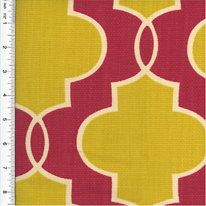 Ogee print clipart picture transparent library Details about P. Kaufmann Ogee Print Yellow & Pink Home Decorating Fabric,  Fabric By The Yard picture transparent library