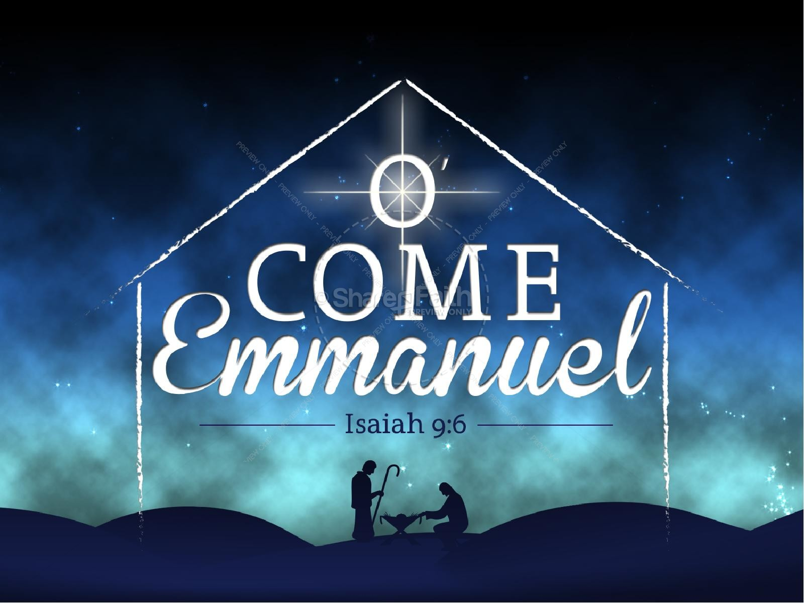 O come o come emmanuel clipart vector black and white download O Come Emmanuel PowerPoint Sermon | Christmas PowerPoints vector black and white download