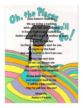 Oh the places you ll go graduation clipart image library library Oh The Places You\'ll Go Graduation Worksheets & Teaching Resources | TpT image library library