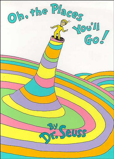 Oh the places you ll go graduation clipart png free library Dr. Seuss – Oh, the Places You\'ll Go! [Excerpt] | Genius png free library