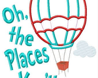 Oh the places you ll go hot air balloon clipart image free library Oh The Places You Ll Go Clipart | Free download best Oh The Places ... image free library
