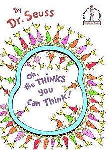 Oh the thinks you can think clipart clip royalty free library Oh, the Thinks You Can Think! - Wikipedia clip royalty free library