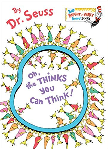 Oh the thinks you can think clipart image download Amazon.com: Oh, the Thinks You Can Think! (Big Bright ... image download