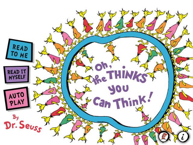 Oh the thinks you can think clipart clip art transparent download Dr. Seuss\'s \'Oh The Thinks You Can Think!\' Will Bring A ... clip art transparent download
