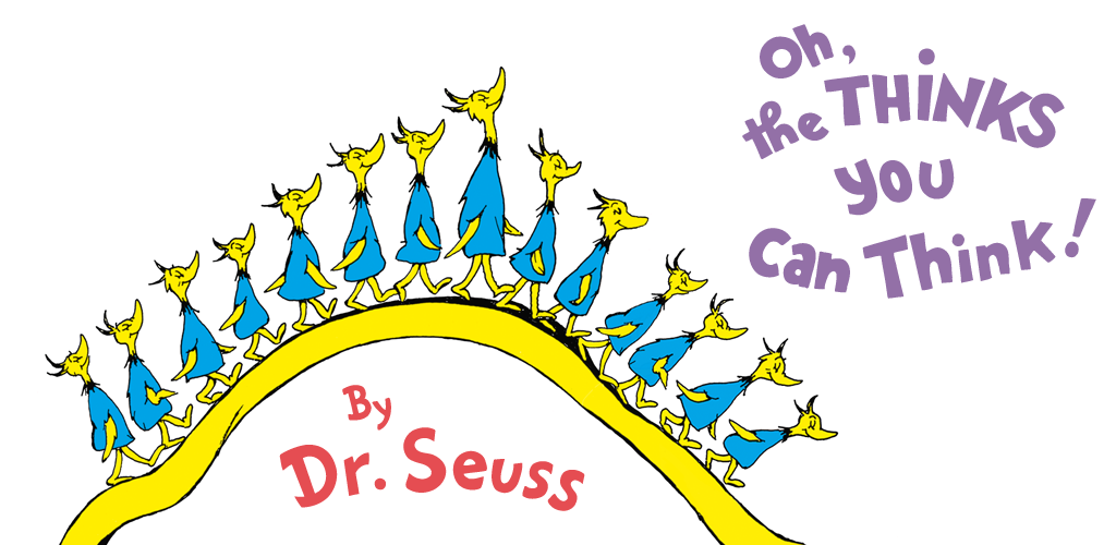 Oh the thinks you can think clipart graphic free download Oh, the Thinks You Can Think! - Dr. Seuss: Amazon.co.uk ... graphic free download