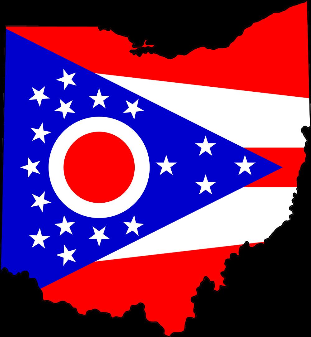 Ohio flag clipart clipart black and white stock Ohio flag clipart clipart images gallery for free download | MyReal ... clipart black and white stock