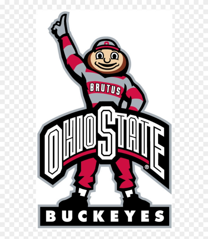 Ohio state buckeyes clipart picture library library Ohio State Buckeyes Iron Ons - Ohio State Buckeyes Logo Clipart ... picture library library