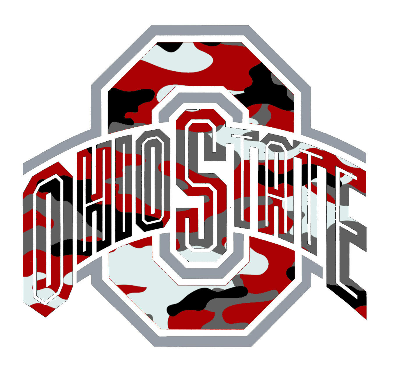 Ohio state buckeyes logo clip art picture black and white download Ohio State Clipart - Clipart Kid picture black and white download
