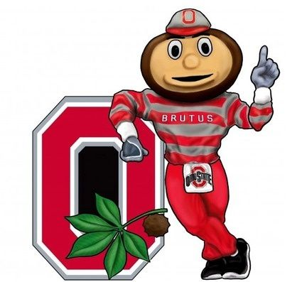 Ohio state buckeyes logo clipart png Ohio State Buckeyes Clip Art   Ohio State Buckeyes Wall Art - 3-D ... png
