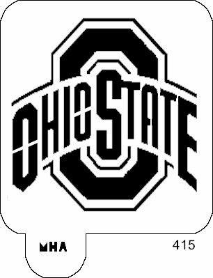 Ohio state football logo clipart banner black and white Ohio State Football Logo Art Clip - ClipArt Best banner black and white