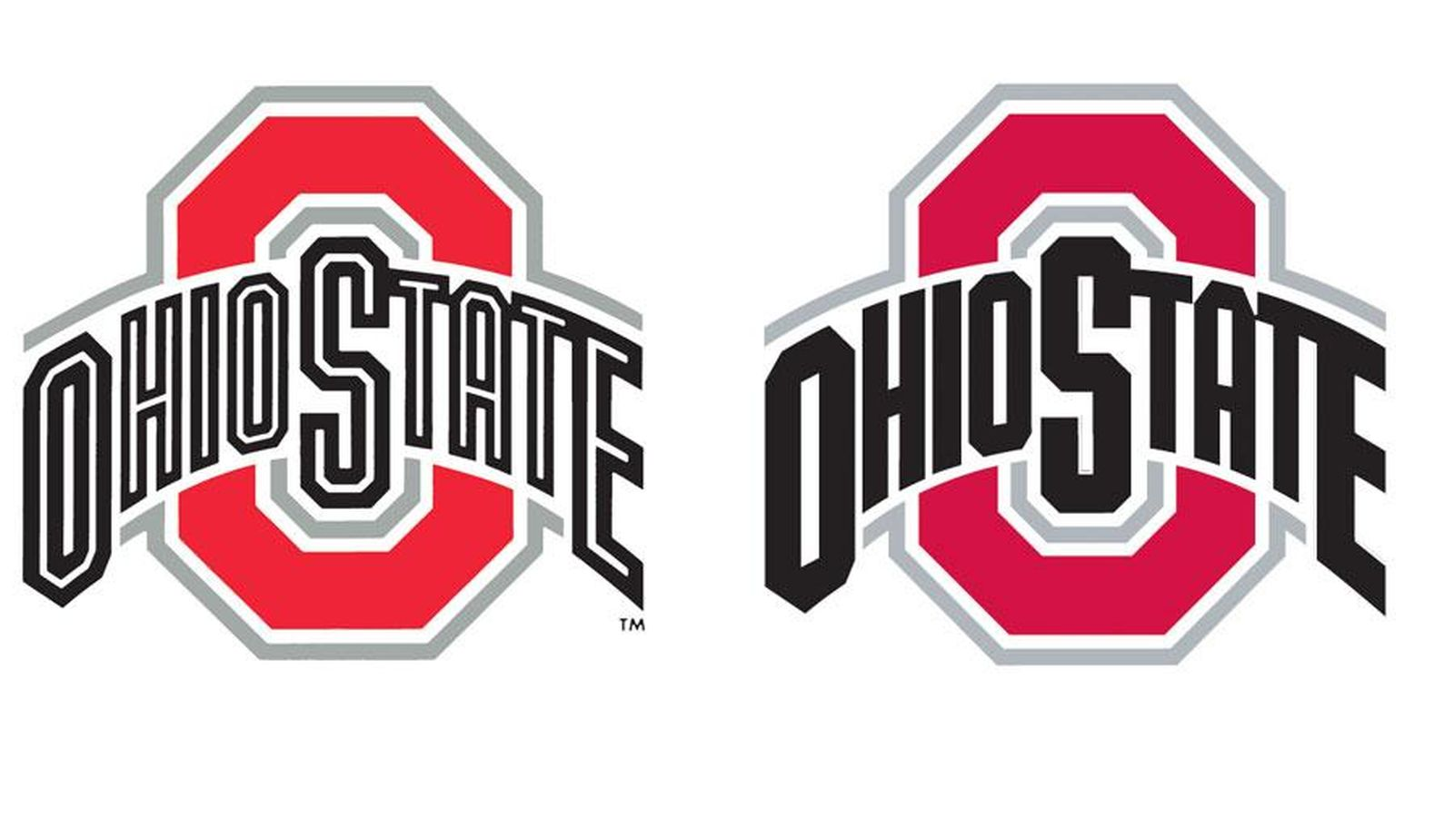 Ohio state football logo clipart vector black and white library New Ohio State logos cost school $45,000 - Land-Grant Holy Land vector black and white library