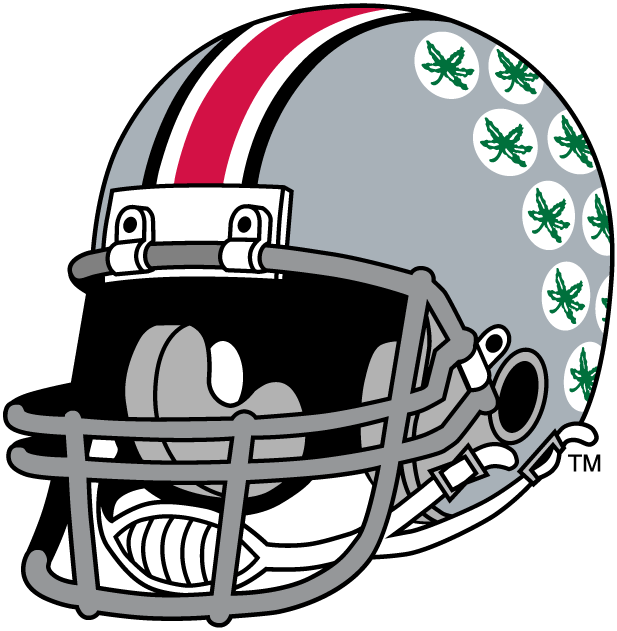 Ohio state football logo clipart picture black and white stock Ohio state helmet clipart - ClipartFest picture black and white stock