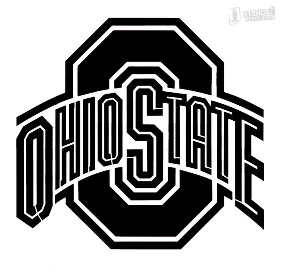 Ohio state logo clipart png library library state of ohio stencil | ... » Stencils » Sports » College » Ohio ... png library library