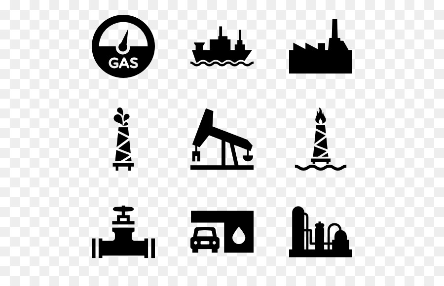 Oil and gas clipart black and white clipart library Black Line Background clipart - White, Black, Text, transparent clip art clipart library