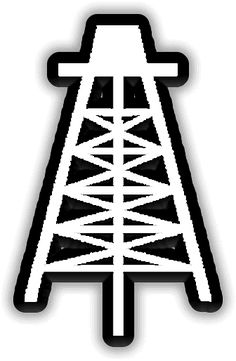 Oil derrick clipart logo black and white with flame png royalty free library Oil Derrick Clipart | Free download best Oil Derrick Clipart on ... png royalty free library