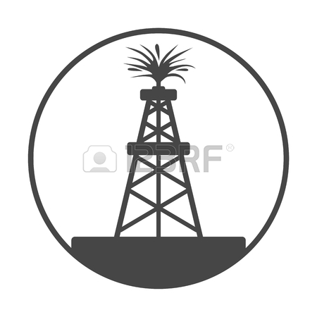 Oil derrick clipart logo black and white with flame jpg royalty free library Oil Derrick Clipart | Free download best Oil Derrick Clipart on ... jpg royalty free library