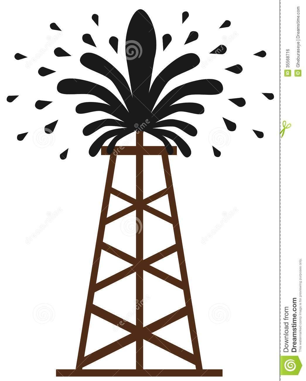 Oil gusher clipart vector free stock Oil gusher clipart » Clipart Portal vector free stock