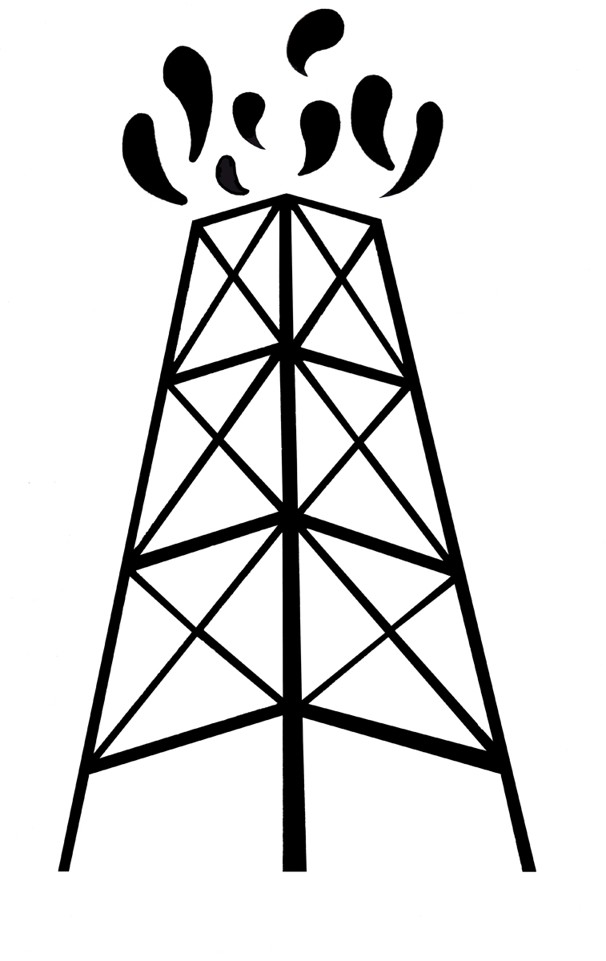 Oil gusher clipart svg library Free Oil Derrick Clipart, Download Free Clip Art, Free Clip ... svg library