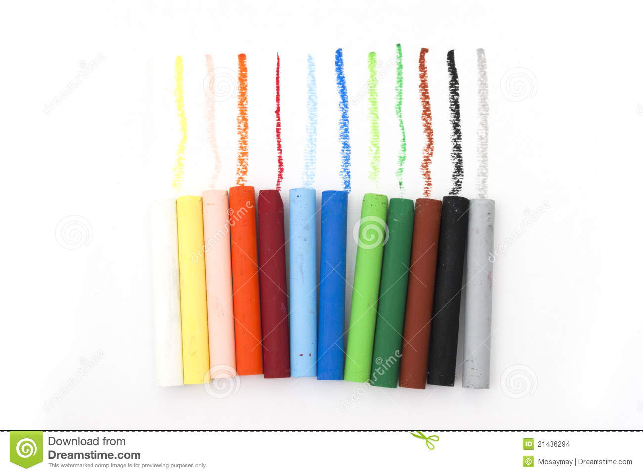 Oil pastel clipart vector royalty free Line Of Oil Pastels Stock Images - Image: 21436294 vector royalty free