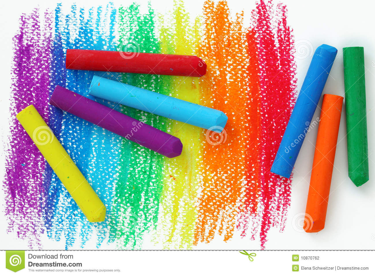 Oil pastel clipart transparent stock Oil Pastel Crayons Stock Photos, Images, & Pictures - 363 Images transparent stock