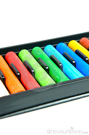 Oil pastel clipart picture library library Art Supplies, Oil Pastels Stock Images - Image: 3311964 picture library library