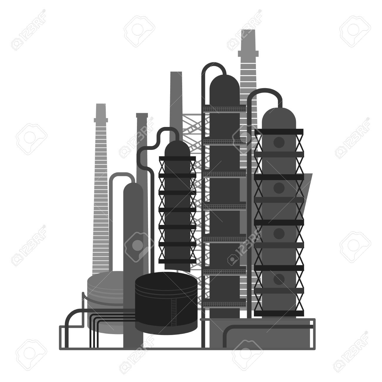 Oil plant clipart picture library download Oil Plant 06 A » Clipart Portal picture library download