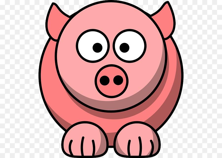 Oink clipart clip stock Pig Cartoon clipart - Cartoon, Pink, Nose, transparent clip art clip stock