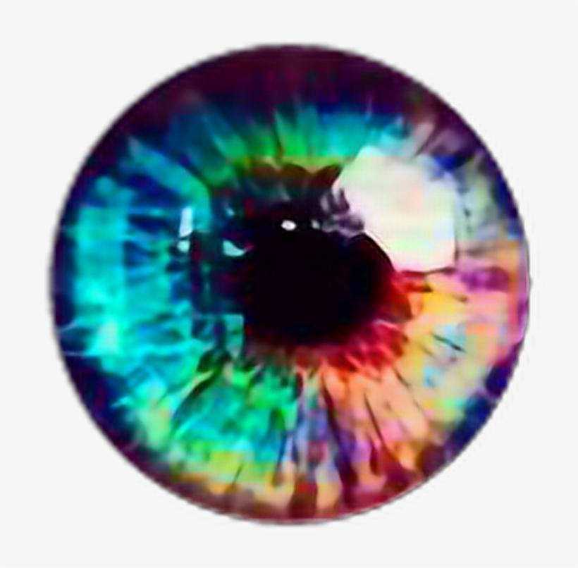Ojos clipart para photoshop svg free Rainbow Arcoíris Sticker Eye Ojo Eyerainbow Ojoarcoiris - Real ... svg free