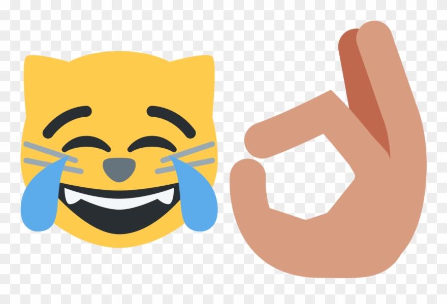Ok hand emoji clipart image royalty free download Ok Clipart Ok Emoji - Ok Hand Sign Twitter - Png Download (#886340 ... image royalty free download
