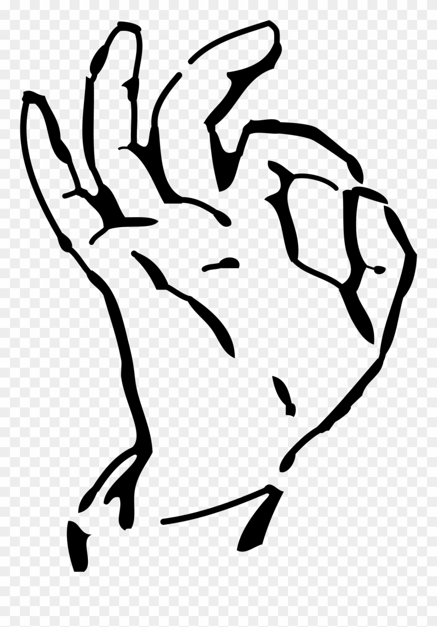 Ok hand sign clipart image freeuse stock Collection Of Hand High Quality Free - Transparent Background Ok ... image freeuse stock