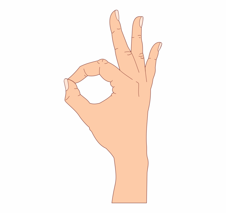 Ok sign clipart picture free library This Png File Is About Ok , Gesture , Okay , Semi Realistic - Ok ... picture free library