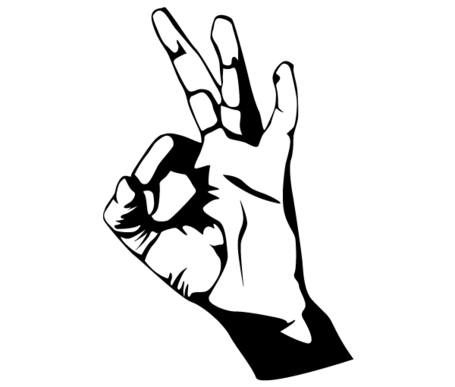 Ok hand sign clipart clip free download Free Hand Ok Sign Vector Art Clipart and Vector Graphics - Clipart.me clip free download