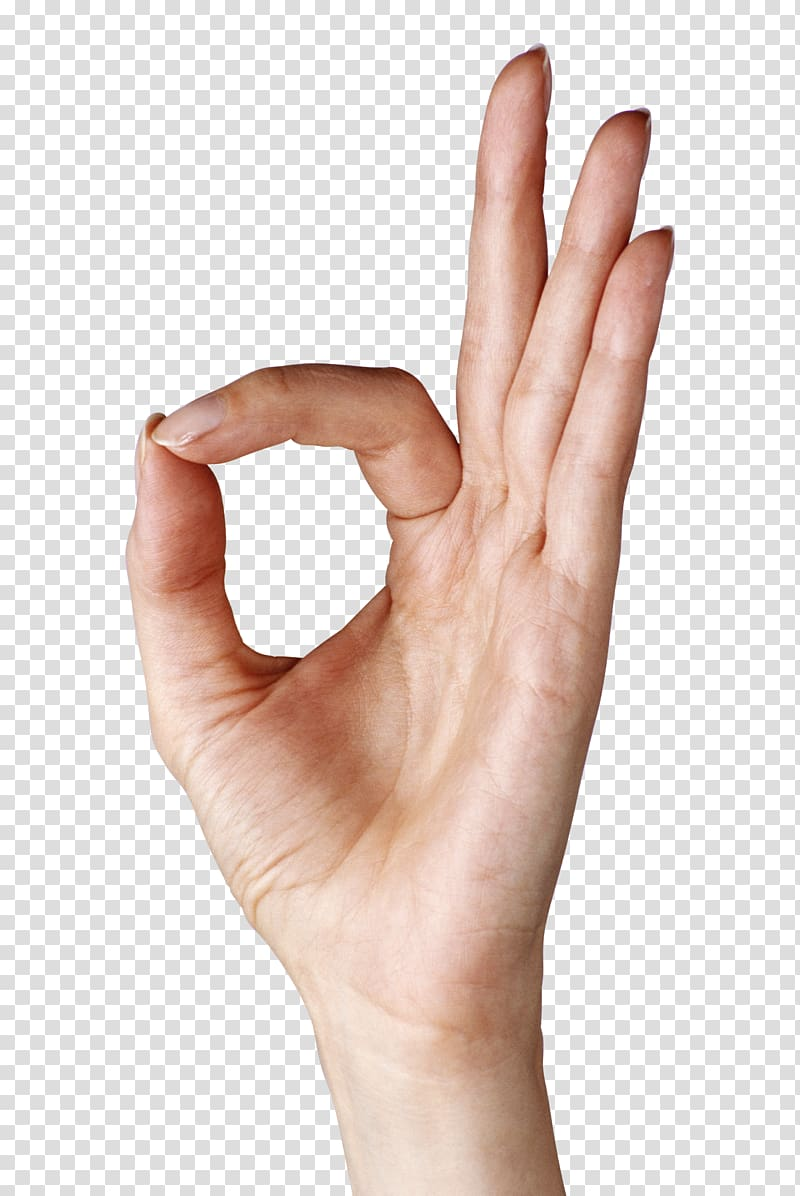 Ok sign clipart png royalty free library OK Hand Gesture , Hand Showing OK , human hand signing ok ... png royalty free library
