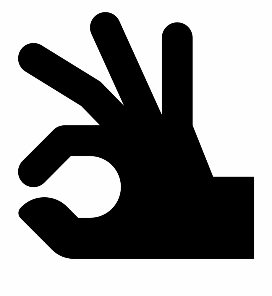 Ok sign clipart graphic stock Ok Hand Icon - Sign Free PNG Images & Clipart Download #272146 ... graphic stock