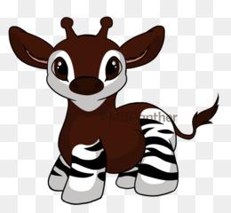Okapi clipart