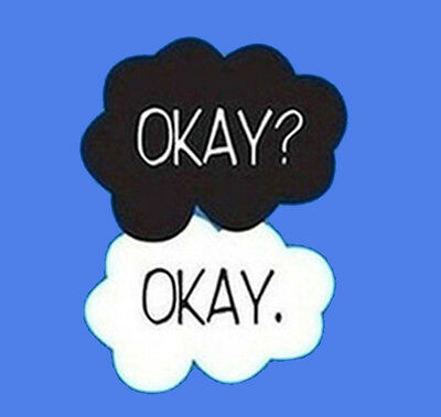 Okay okay clouds blank clipart banner transparent stock Okay? Okay The Fault In Our Stars Clouds Humor Funny T-Shirt Tee   eBay banner transparent stock
