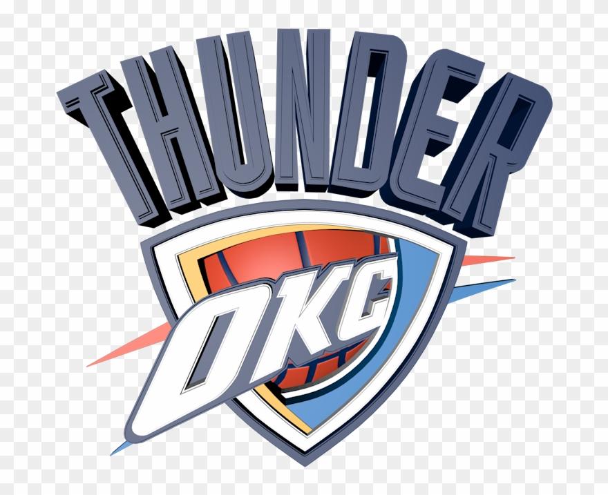 Okc logo clipart banner black and white stock Oklahoma City Thunder Png Transparent Images - Oklahoma City Thunder ... banner black and white stock
