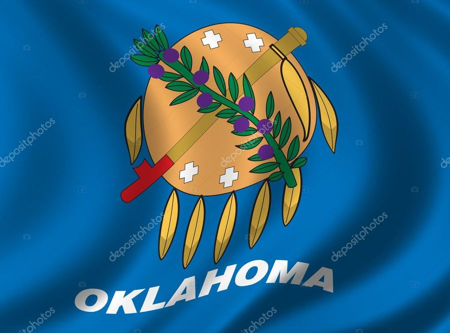 Oklahoma flag clipart banner free download Blue, Cartoon, Text, Font, Illustration, Sky, World ... banner free download