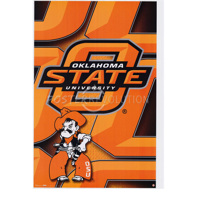 Oklahoma state university logo clipart clip black and white stock Oklahoma State Clipart - Clipart Kid clip black and white stock