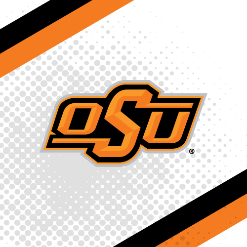 Oklahoma state university logo clipart graphic black and white stock Oklahoma State University - College Teams - Logo - Product Categories graphic black and white stock