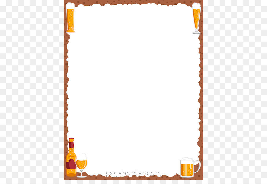 Oktoberfest clipart borders svg royalty free stock Paper Background Frame png download - 470*608 - Free ... svg royalty free stock