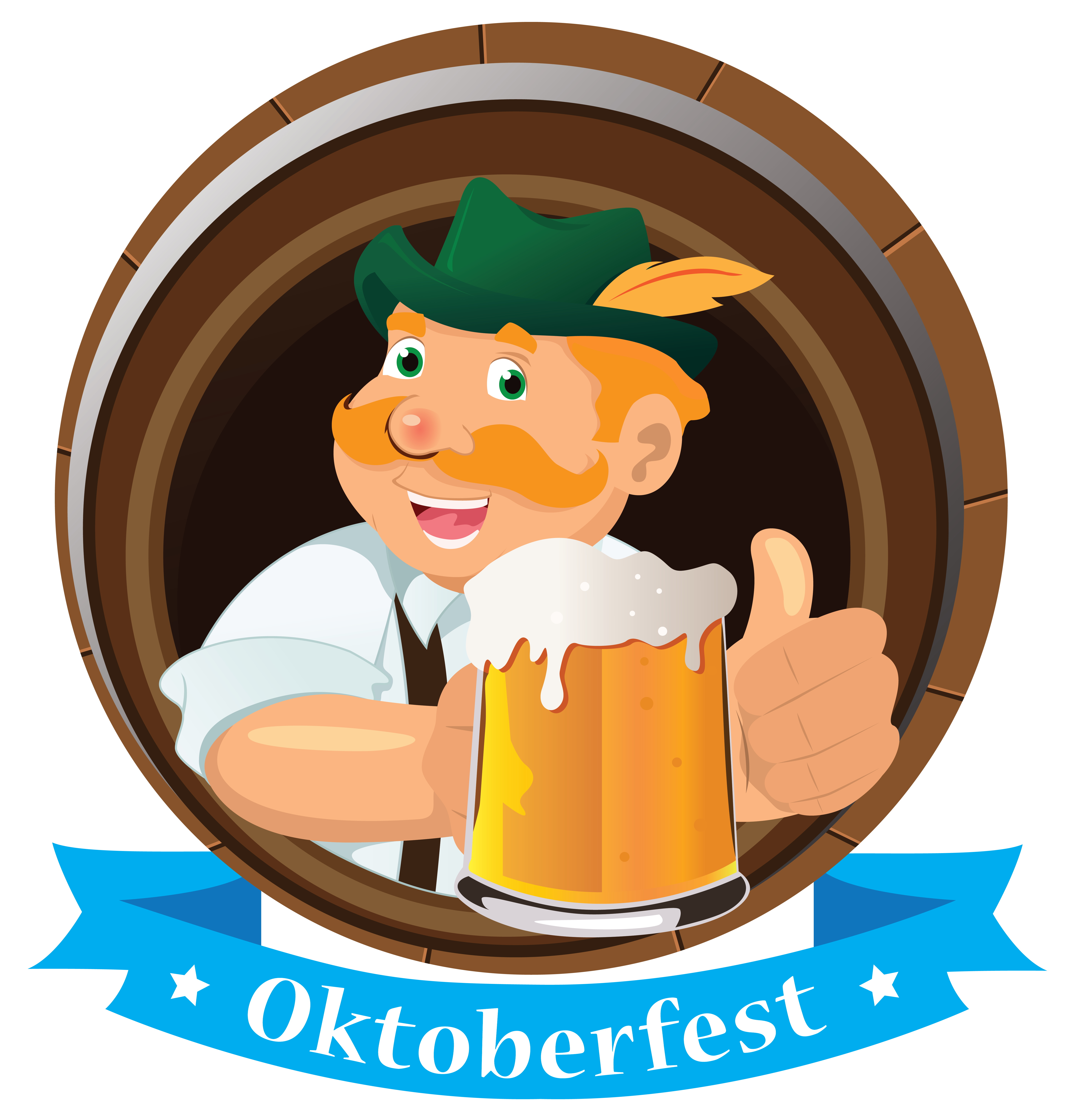 Oktoberfest clipart free download clip library stock Oktoberfest Decoration Man with Beer PNG Image | Gallery ... clip library stock
