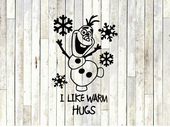 Olaf i like warm hugs svg clipart graphic library I like warm hugs olaf svg, frozen svg, disney svg, cut files for ... graphic library