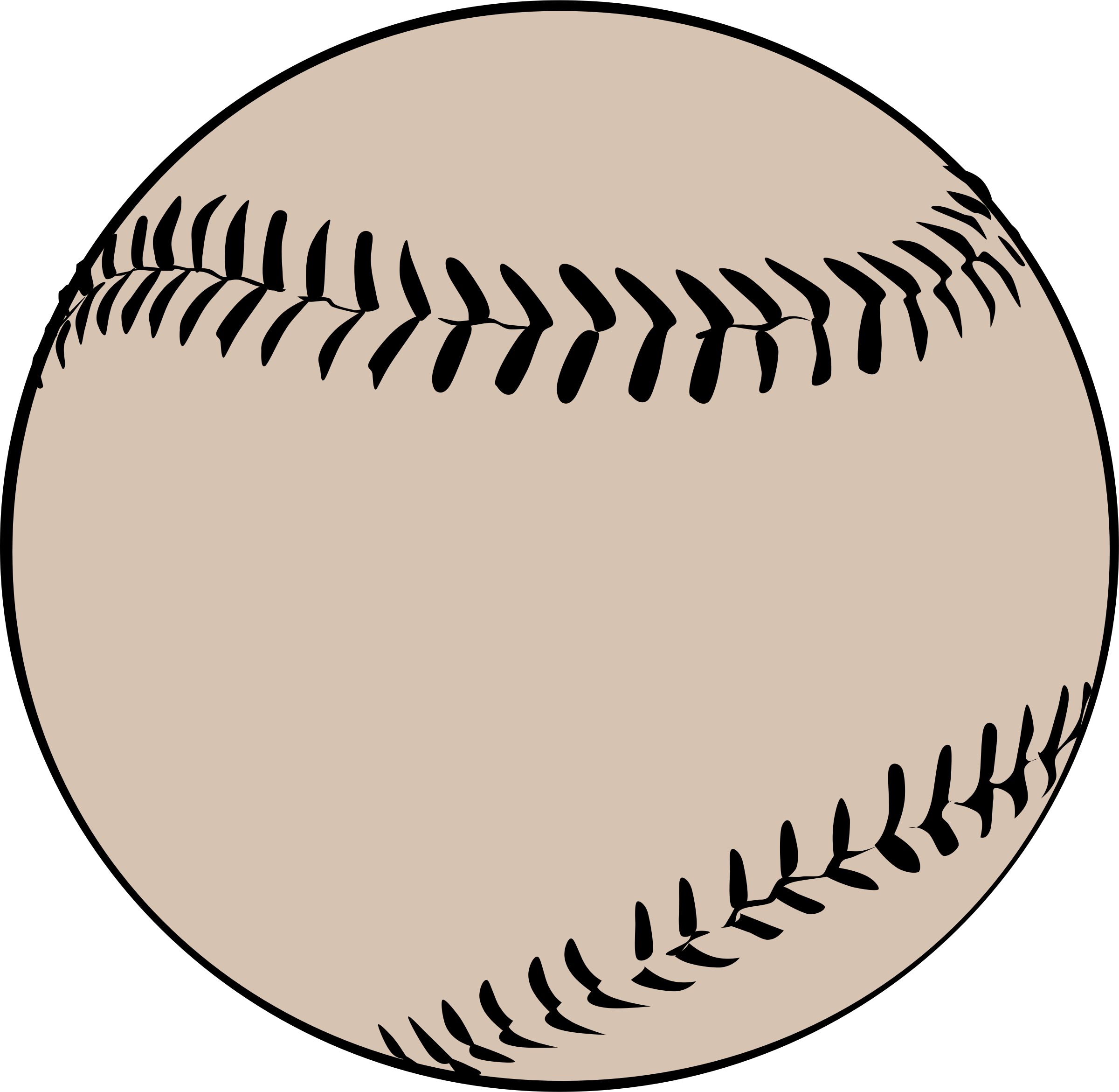 Old baseball clipart png freeuse stock Clipart - Baseball Offwhite png freeuse stock