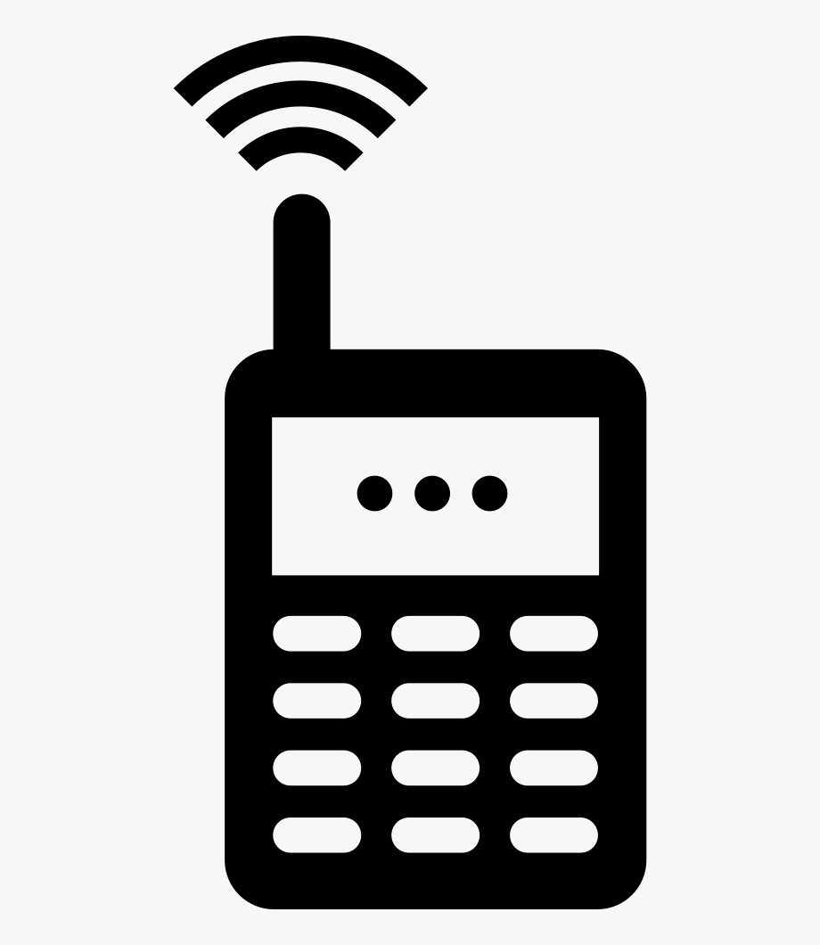 Old cell phone clipart picture royalty free download Cell Clipart Old Cell Phone - Mobile Phone Old Icon Png ... picture royalty free download