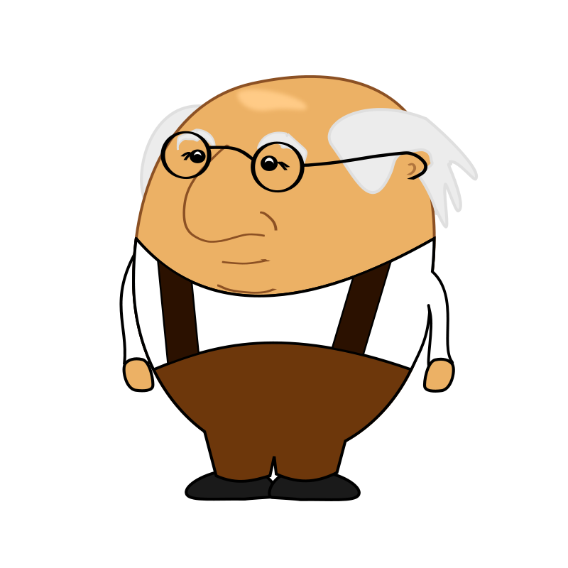 Old clipart free picture stock Free Clipart: Old Man 2 | ricardomaia picture stock