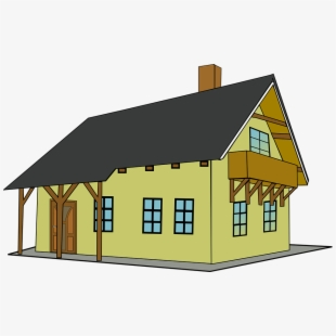 Old colonial house clipart jpg freeuse download Colonial House Cliparts - Old House Clipart , Transparent Cartoon ... jpg freeuse download
