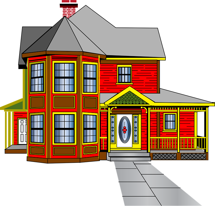Old colonial house clipart picture black and white library Free Image on Pixabay - House, Colonial, Architecture, Old   SVG ... picture black and white library